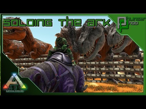 Soloing the Ark S4E127 - BREEDING UP THE REX ARMY FOR THE MANTICORE FIGHT