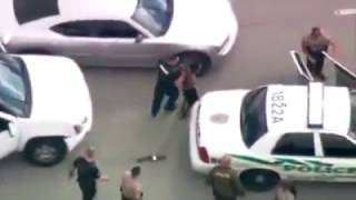 French police chase and capture terrorists