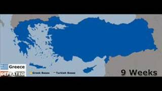 Greece - Turkey War(This video report in a possible future war between Greece and Turkey (Mongolia). This is the most possible scenario to happen., 2008-07-04T13:56:51.000Z)