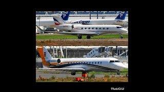 ✈✈ガルフストリーム  Gulfstream Aerospace G650 (G-VI)   Bombardier CL-600-2B19  Take-off!!Narita RWY16R 成田空港