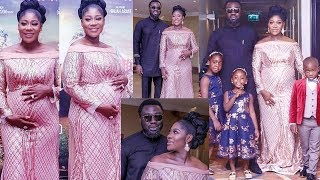 Pregnant Mercy Johnson and Her Family at her Movie premiere The Legend of inikpi