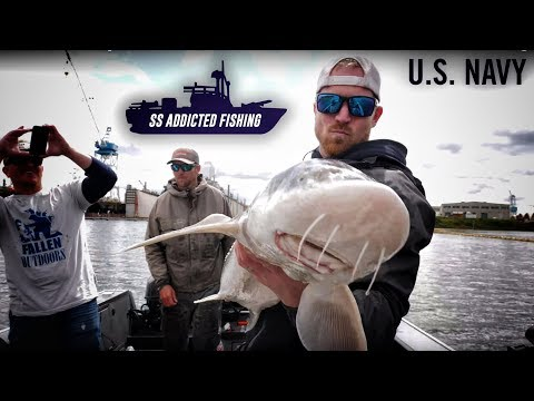 FISHING Dinosaurs With The US NAVY In Downtown Portland, Oregon. | Addicted Life Ep. #45