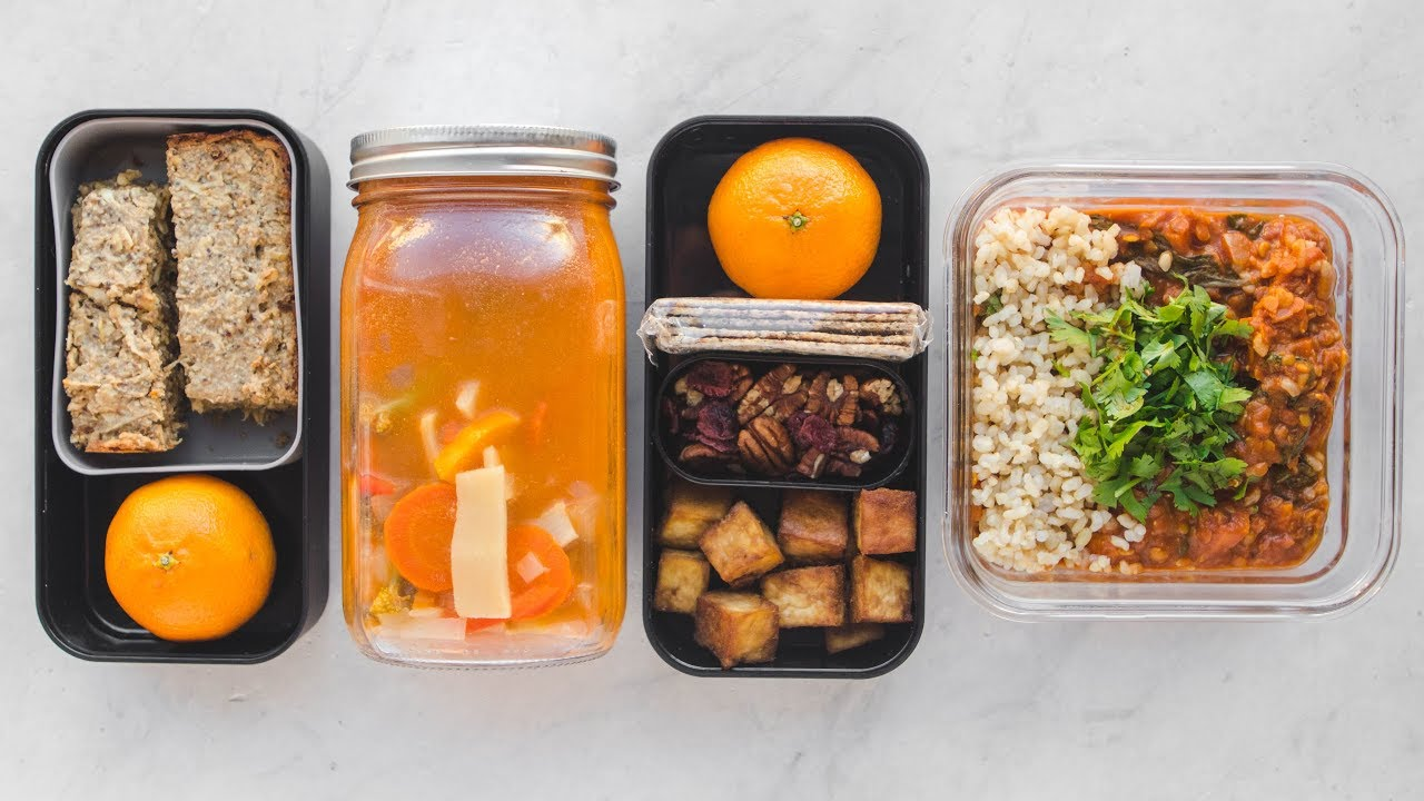 Healthy Meal Prep! Vegan & Gluten Free (Bento Box)