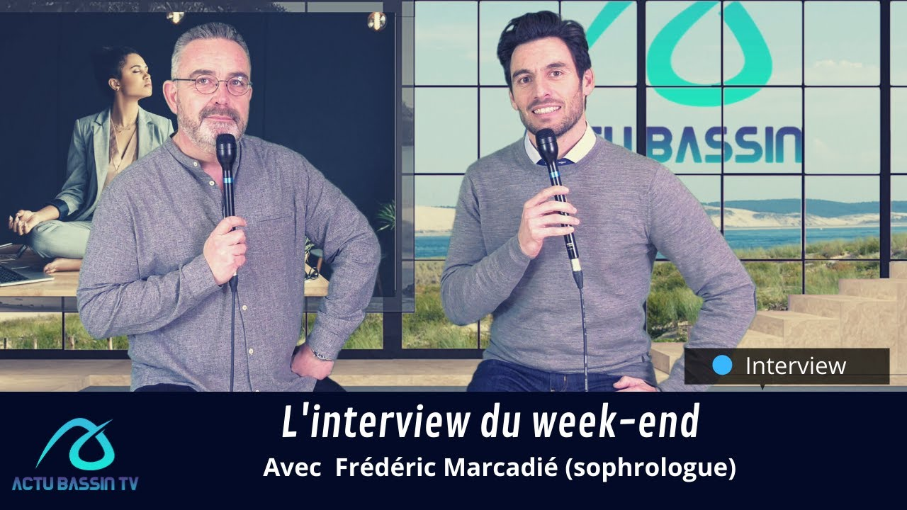 L'interview du week-end : Frédéric Marcadié (sophrologue)