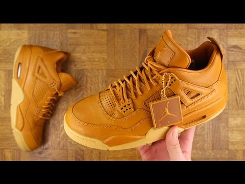 AIR JORDAN 4 GINGER/WHEAT REVIEW!