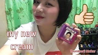 renow D whitening cream puputi ka instant!!!