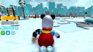 I MADE A GIANT SNOWBALL - ROBLOX