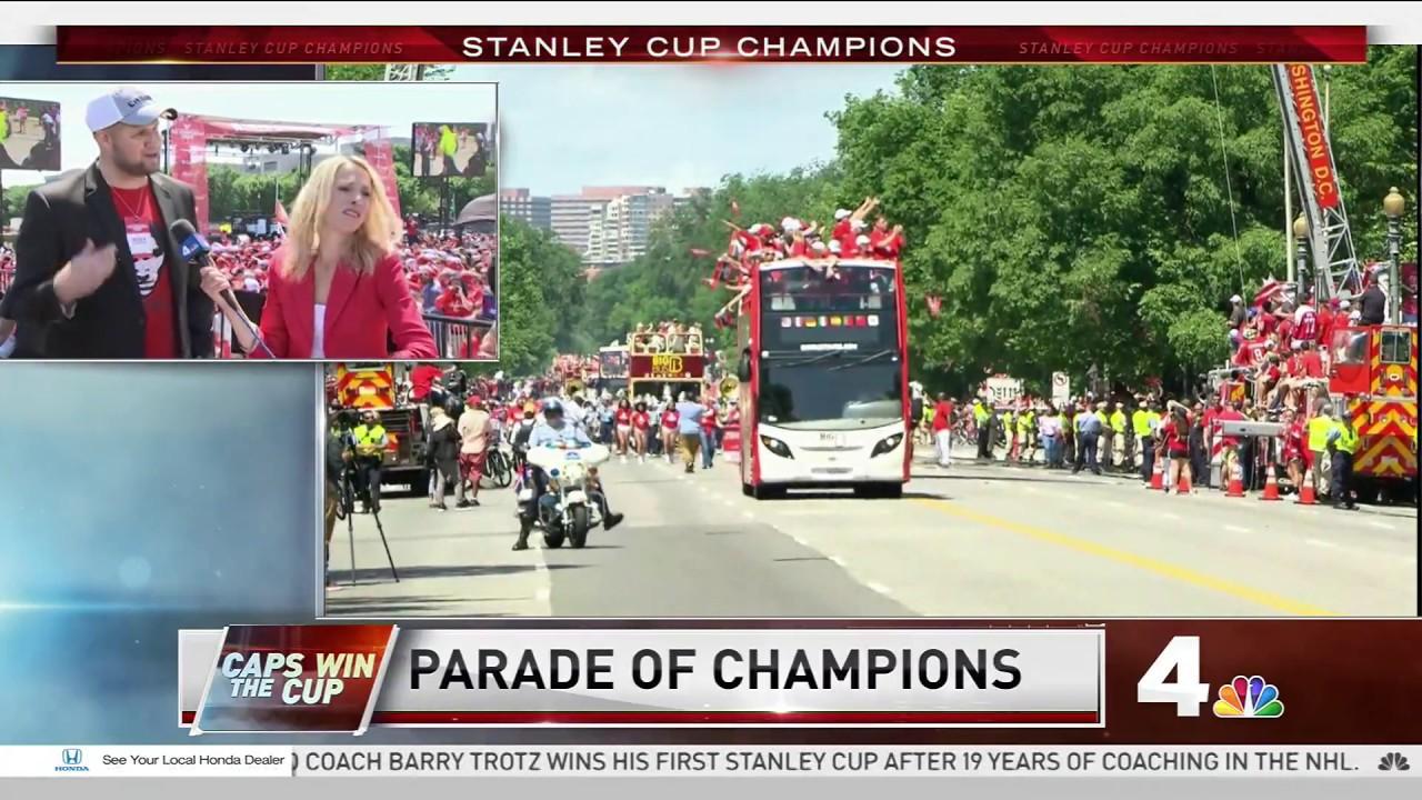 e7da79b8f5a RMNB s Ian Oland appears on NBC4 Washington s Stanley Cup Parade coverage