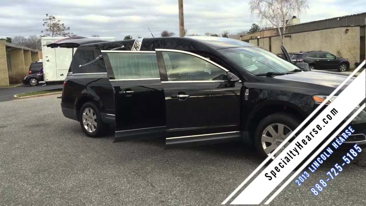 Used Hearse For Sale >> 2013 LINCOLN USED HEARSE FOR SALE - YouTube