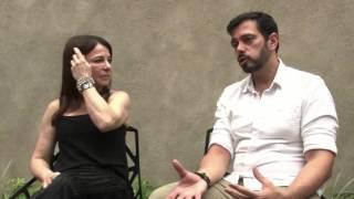 Um Olhar entrevista Sônia barreto e Marcelo Rodrigues