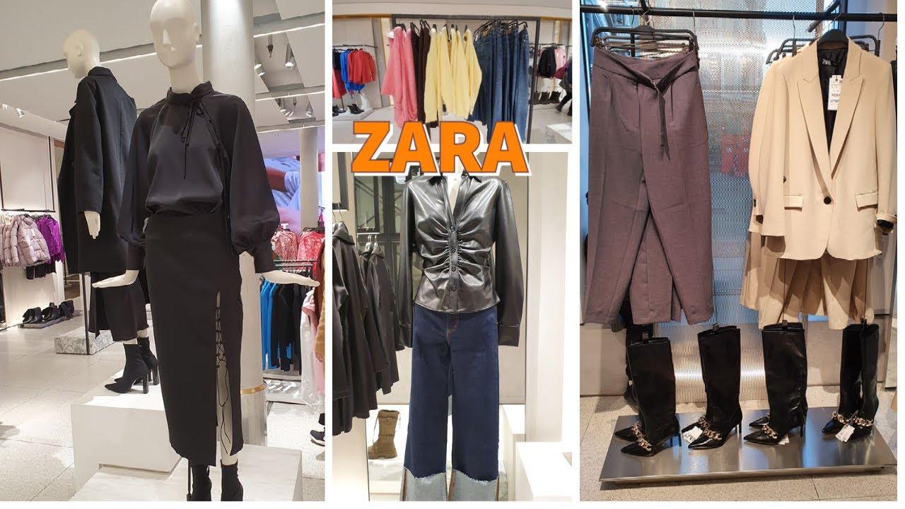 ZARA NEW AUTUMN - WINTER COLLECTION OCTOBER2021 #zara #autumn