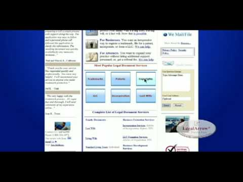 LegalArrow® Online Legal Document Service Center