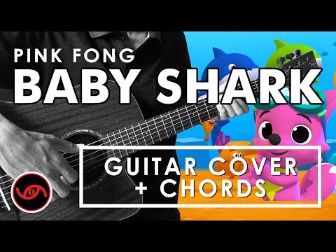 Baby Shark - Pink Fong Cover With CHORDS