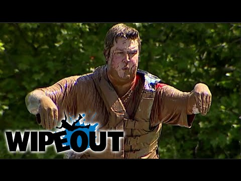 Garbage Boy Vs the Wipeout Zone | Wipeout from YouTube · Duration:  2 minutes 8 seconds