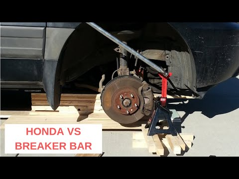 2005 Honda Pilot Crank Shaft Pulley Bolt Removal