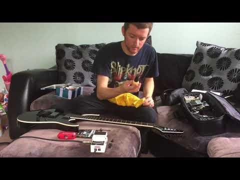 Jackson Mick Thomson SL2 Signature Guitar Set Up