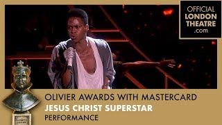 Jesus Christ Superstar performs at the Olivier Awards 2017 with Mastercard