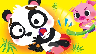 I'm a Baby Panda! Baby Animals Song! | Kids Songs | by Little Angel