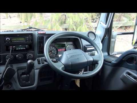 2.5T Dual Cab Fuso Truck Tutorial