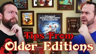 Tips From Older Editions of Dungeons & Dragons - Web DM