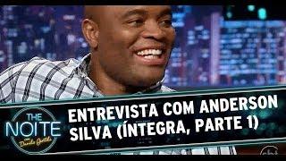 The Noite com Anderson Silva e Bob Júnior (Parte 1)