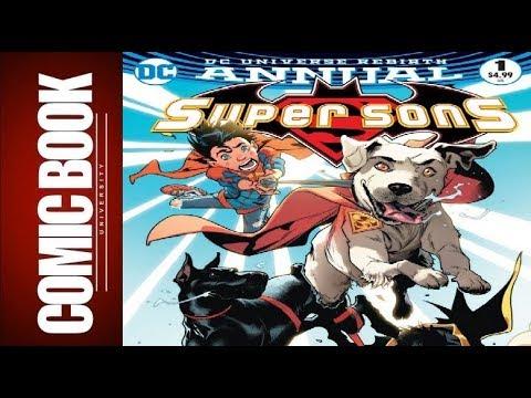 Super Sons Annual #1 | COMIC BOOK UNIVERSITY