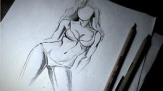 Как рисовать женскую фигуру