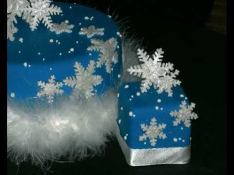 Le torte di fiorella dolce natale torte decorate - Torte natalizie decorate ...