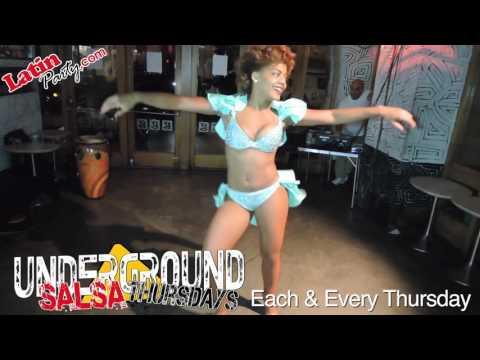Delia Madera - Underground Salsa Thursdays - LatinParty.com