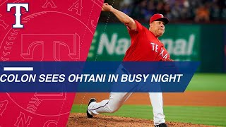 Bartolo Colon gets fellow legend Albert Pujols, rookie legend Shohei Ohtani