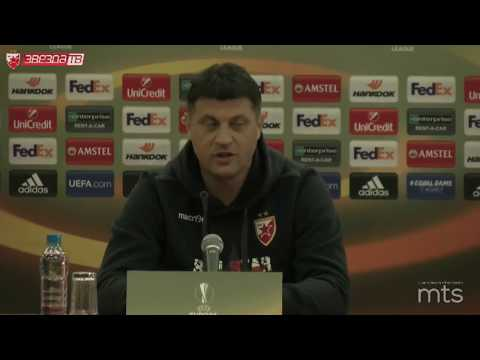 Konferencija za medije pred meč Crvena zvezda - CSKA