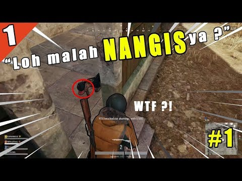Aiming kocak, Voice chat lucu, dll - kompilasi funny moment PUBG indonesia