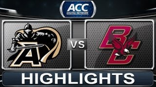 2013 ACC Football Highlights | Army vs Boston College | ACCDigitalNetwork