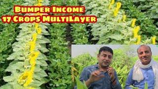 17 crops in 1 acre super farmer of India
