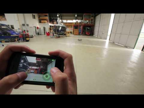 AR.Drone Tutorials #01 : Indoor Flight Instructions