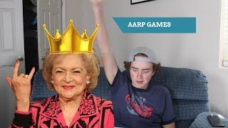 Playing Aarp Games!!