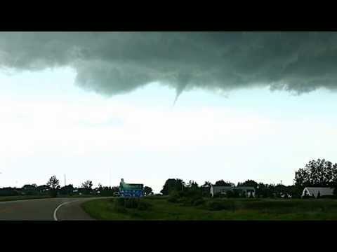 Funnel Cloud over Carnduff, SK 2013-07-22