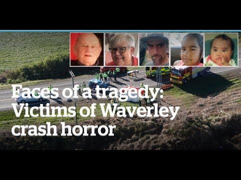 HORIFIC CAR CRASH NEAR HAWERA - WAVERLEY SOUTH TARANAKI NEW ZEALAND 🇳🇿