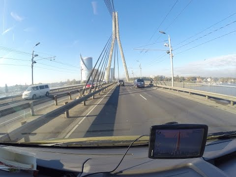 Pärnu-Riga-Pärnu Timelapse