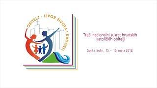 Treći nacionalni susret hrvatskih katoličkih obitelji u Solinu