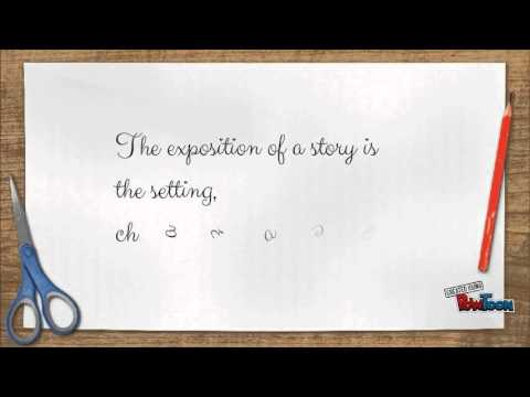 Exposition of a story
