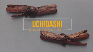 Uchidashi - Dragonfly Menuki - part 4