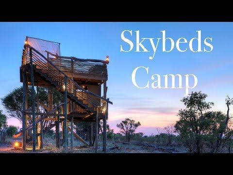 Skybeds Camp - Khwai Private Reserve- Natural Selection Travel -Botswana.