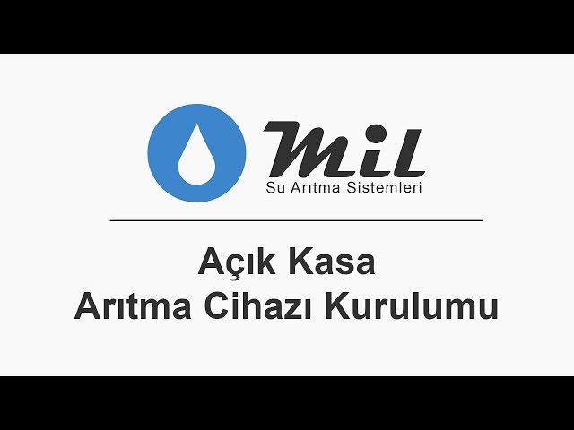Mil Su Arıtma Cihazı Montajı - Açık Kasa (Jaco Sistem)