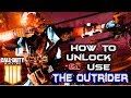 How to UNLOCK and USE the NEW Specialist OUTRIDER in COD BO4!