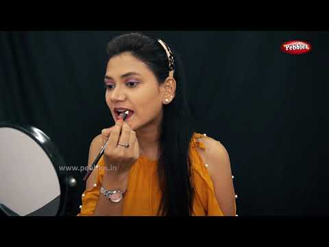 How to Apply Lipstick in Hindi | Lip Stick, Lip Liner Kaise Lagaye | Apply Lip Liner Perfectly