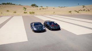 Lamborghini CENTENARIO vs SESTO ELEMENTO Drag Race! Forza Horizon 3