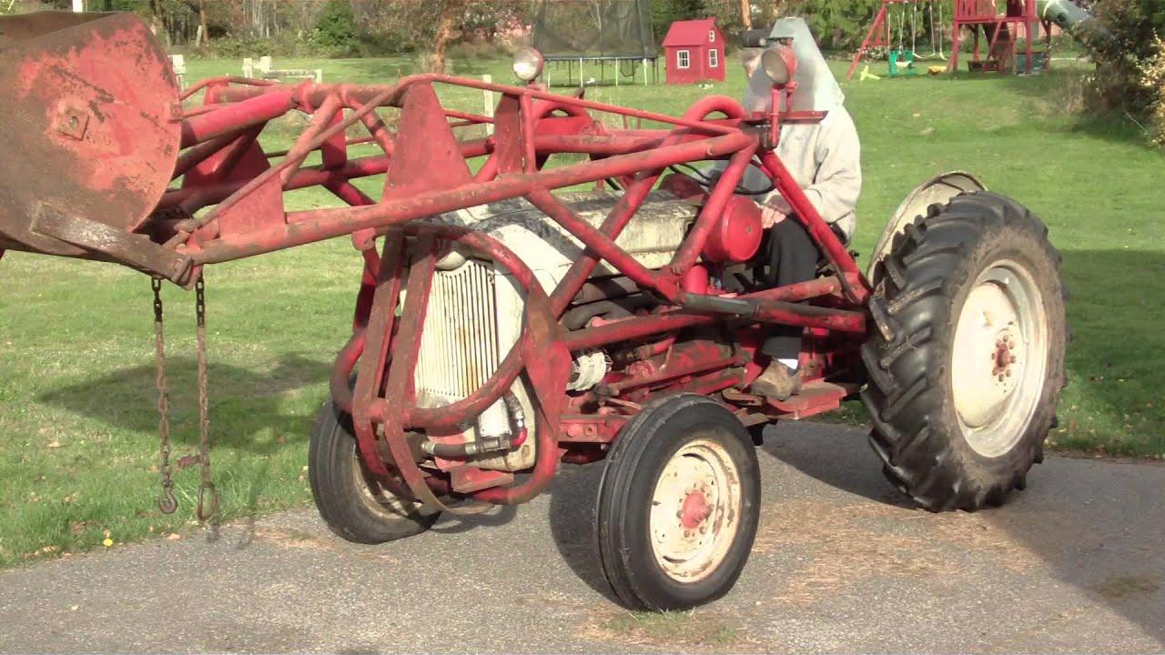 1954 ford tractor jubilee naa  [ 1280 x 720 Pixel ]