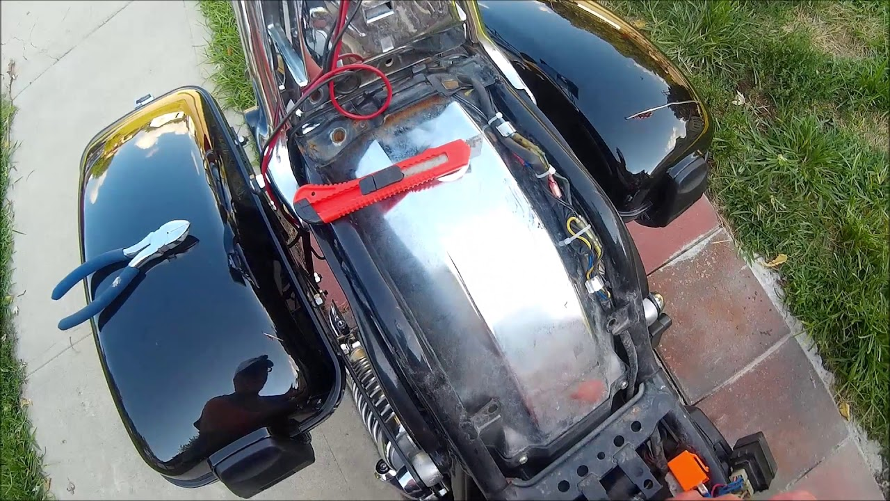 small resolution of do it yourself 1986 yamaha virago led turn signal relay modification