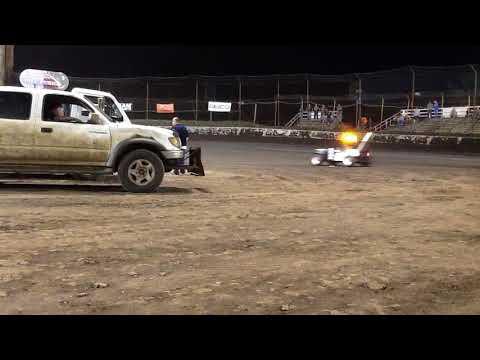 Macon speedway Push truck 8/19/17